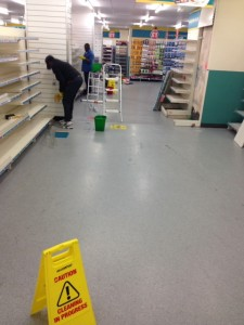 deep cleaning poundland (2)